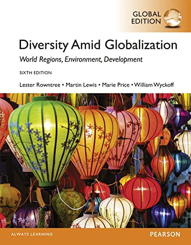 9781292058924: Diversity Amid Globalization World Region, Environment, Development, Global Edition