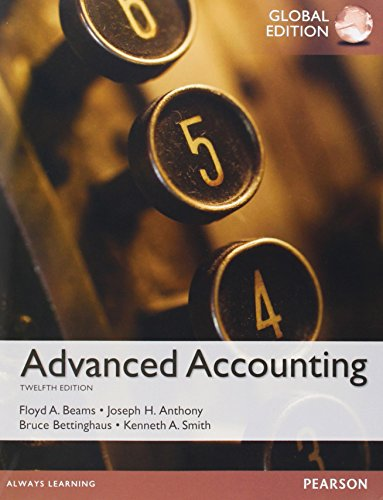 9781292059341: Beams: Advanced Accounting, Global Edition