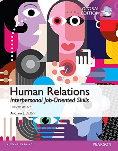 9781292059365: Human Relations: Interpersonal Job-Oriented Skills, Global Edition