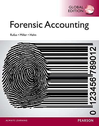 9781292059372: Forensic Accounting, Global Edition