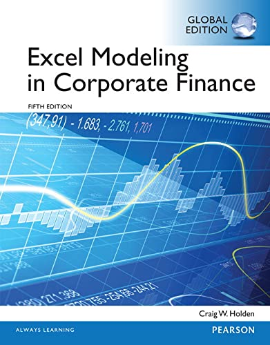 9781292059389: Excel Modeling in Corporate Finance