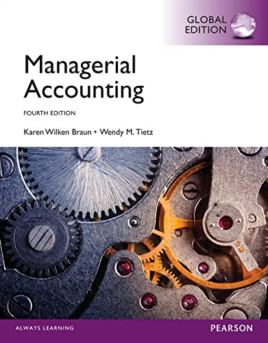 9781292059426: Managerial Accounting, Global Edition