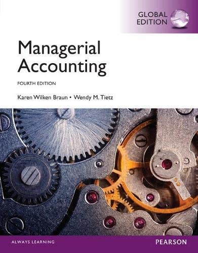 9781292059761: Managerial Accounting with MyAccountingLab, Global Edition