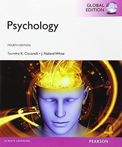 Psychology, Global Edition [Paperback] [Jan 01, 2014]