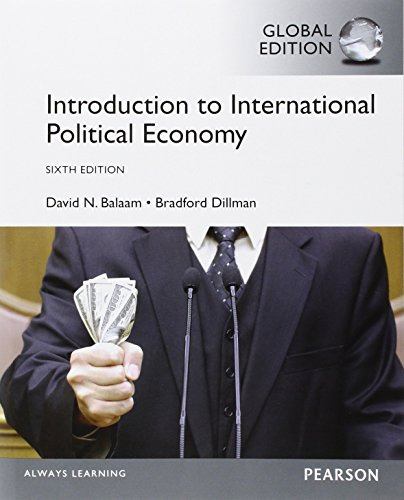 9781292059860: Introduction to International Political Economy, Global Edition