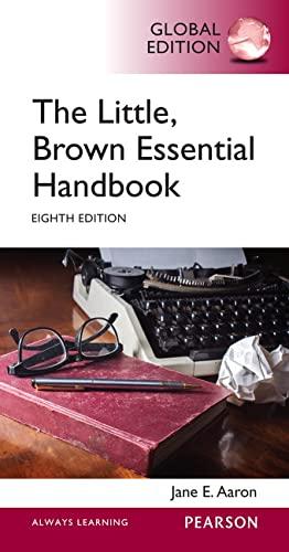 9781292059952: Little, Brown Essential Handbook, Global Edition