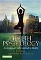 9781292060002: Health Psychology: An Interdisciplinary Approach to Health: Global Edition