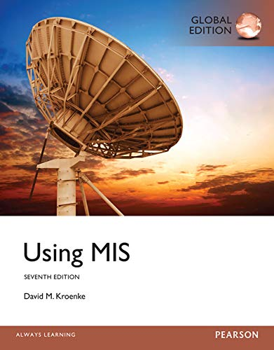 9781292060149: Using MIS, Global Edition