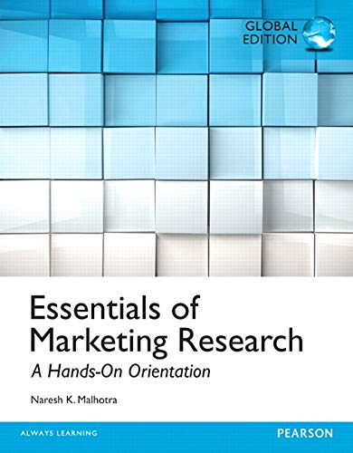 9781292060163: Essentials of Marketing Research, Global Edition