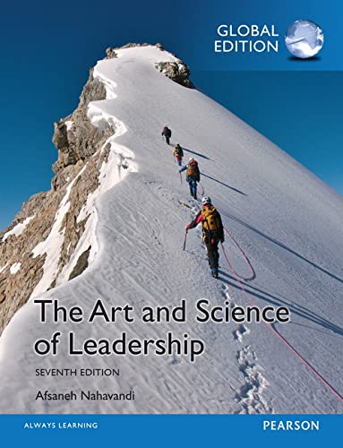 9781292060187: The Art and Science of Leadership, Global Edition