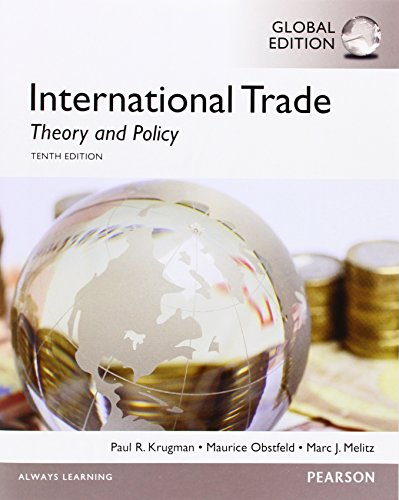 9781292060439: International Trade: Theory and Policy: Global Edition