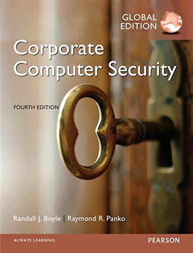 9781292060453: Corporate Computer Security, Global Edition