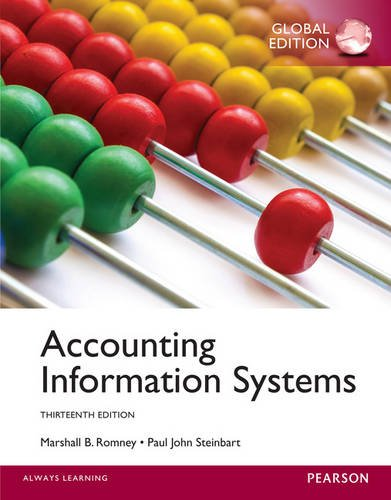 9781292060521: Accounting Information Systems, Global Edition