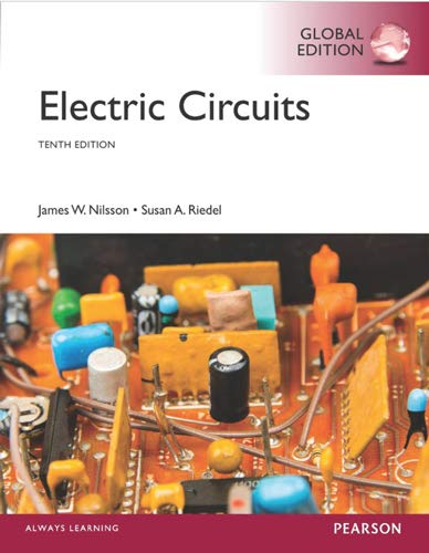 Electric Circuits :10e: By Nilsson,riedel: 9781292060545 - Majestic ...