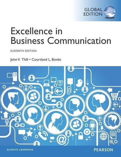 9781292060705: Excellence in Business Communication, Global Edition