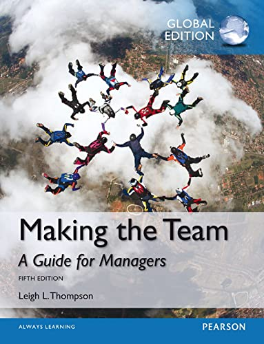 9781292060781: Making the Team, Global Edition