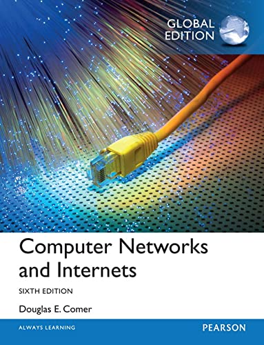 9781292061177: Computer networks and internets
