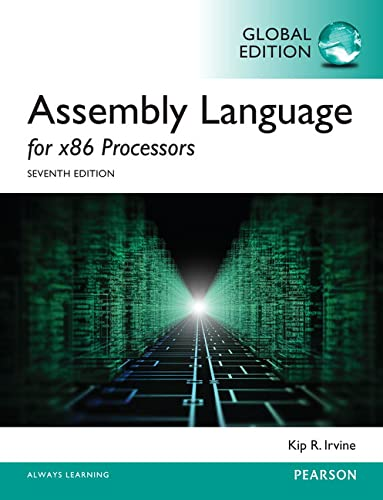 9781292061214: Assembly Language for x86 Processors, Global Edition