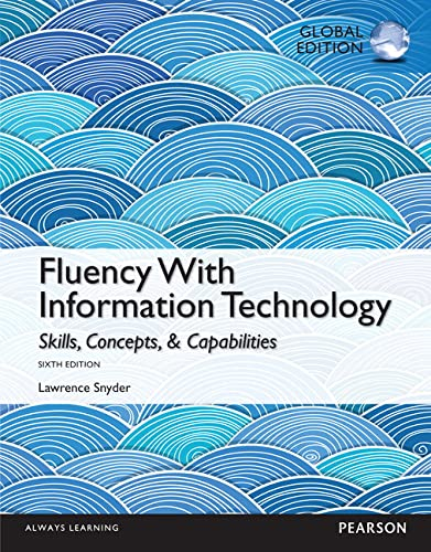 9781292061245: Fluency With Information Technology: Global Edition