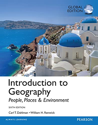 9781292061269: Introduction to Geography: People, Places, and Environment, Global Edition