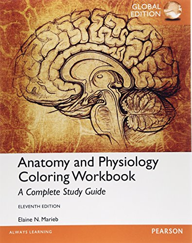 9781292061290: Anatomy and Physiology Coloring Workbook: A Complete Study Guide, Global Edition
