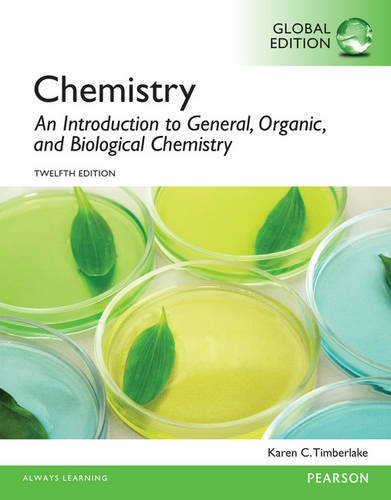 9781292061320: Chemistry An Introduction to General, Organic, and Biological Chemistry, Global Edition