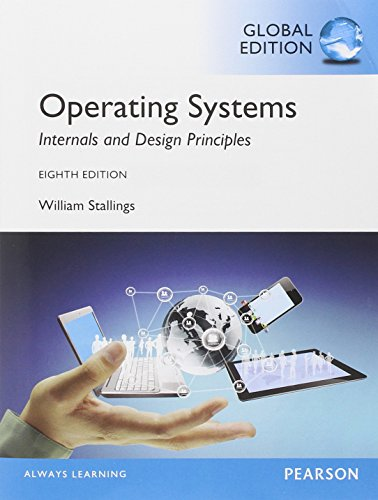9781292061351: Operating Systems: Internals and Design Principles, Global Edition