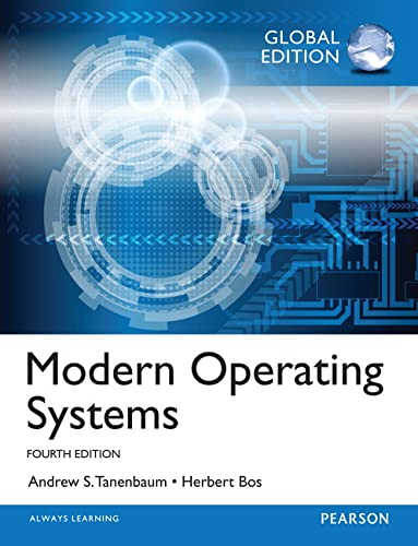 9781292061429: Modern Operating Systems: Global Edition