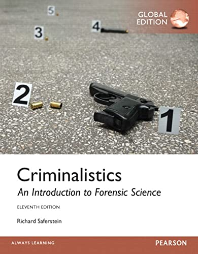 9781292062020: Criminalistics: An Introduction to Forensic Science, Global Edition