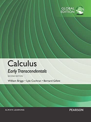 9781292062310: Calculus: Early Transcendentals, Global Edition