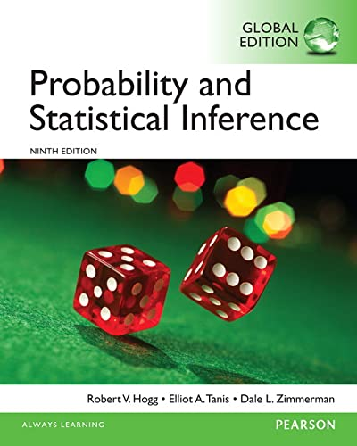 9781292062358: Probability and Statistical Inference, Global Edition