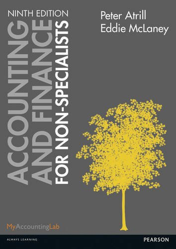 9781292062716: Accounting and Finance for Non-Specialists.