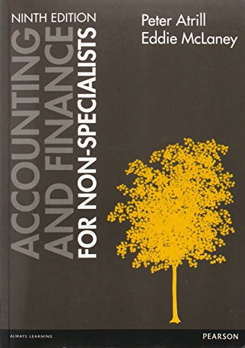 9781292062815: Accounting and Finance for Non-Specialists with MyAccountingLab