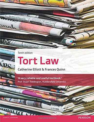 9781292064550: Tort Law