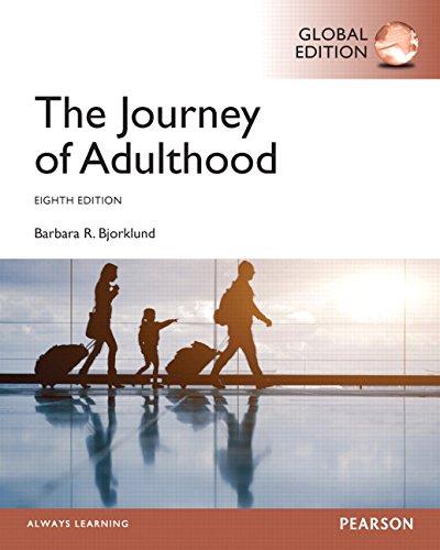 9781292064888: Journey of Adulthood, Global Edition