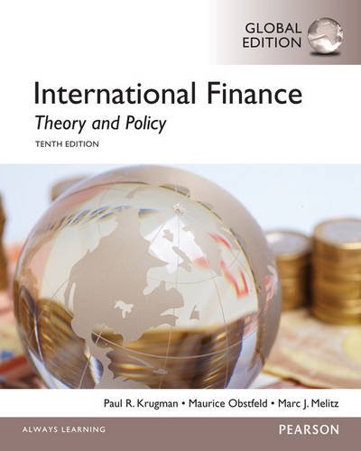 9781292065199: International Finance: Theory and Policy, Global Edition