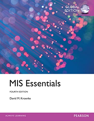 9781292065298: MIS Essentials: Global Edition