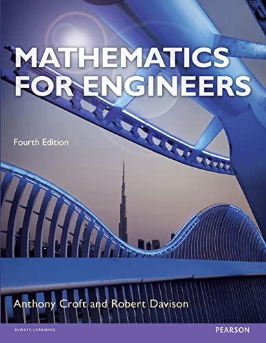 9781292065939: Mathematics for Engineers
