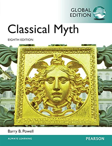 9781292066141: Classical Myth, Global Edition