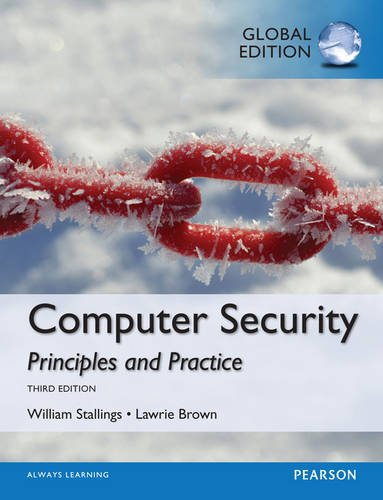 9781292066172: Computer Security Principles and Practice, Global Edition