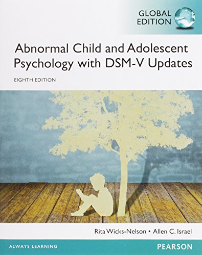 9781292066219: Abnormal Child and Adolescent Psychology with DSM-V Updates
