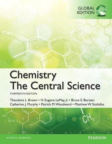 9781292067292: Chemistry: The Central Science OLP with eText