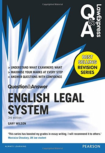 9781292067452: Law Express Question and Answer: English Legal System(Q&A revision guide) (Law Express Questions & Answers)