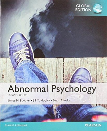 9781292069289: Abnormal Psychology