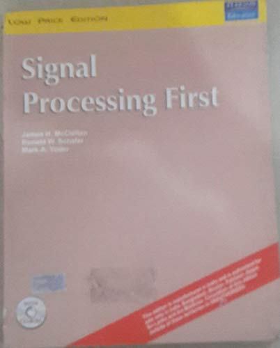 9781292069678: Signal Processing First