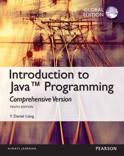9781292070018: Intro to Java Programming, Comprehensive Version, Global Edition