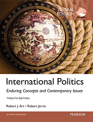 9781292070872: International Politics: Enduring Concepts and Contemporary Issues