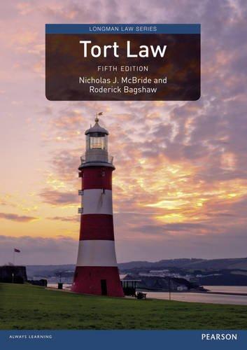 9781292071237: Tort Law (Longman Law Series)