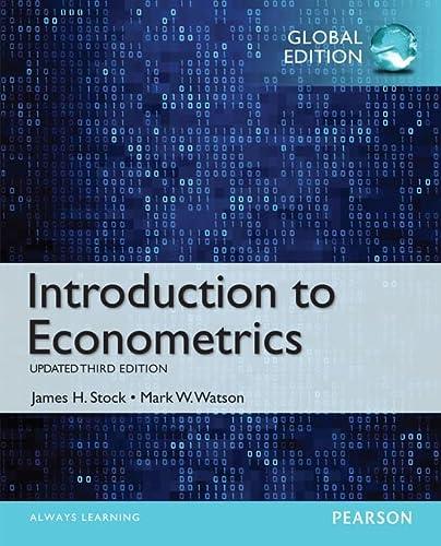 9781292071312: Introduction to econometrics