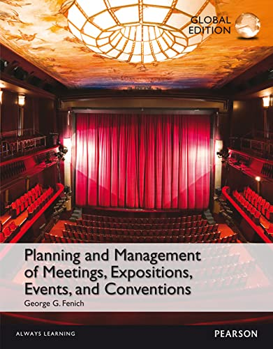 9781292071749: Planning and Management of Meetings, Expositions, Events and Conventions, Global Edition